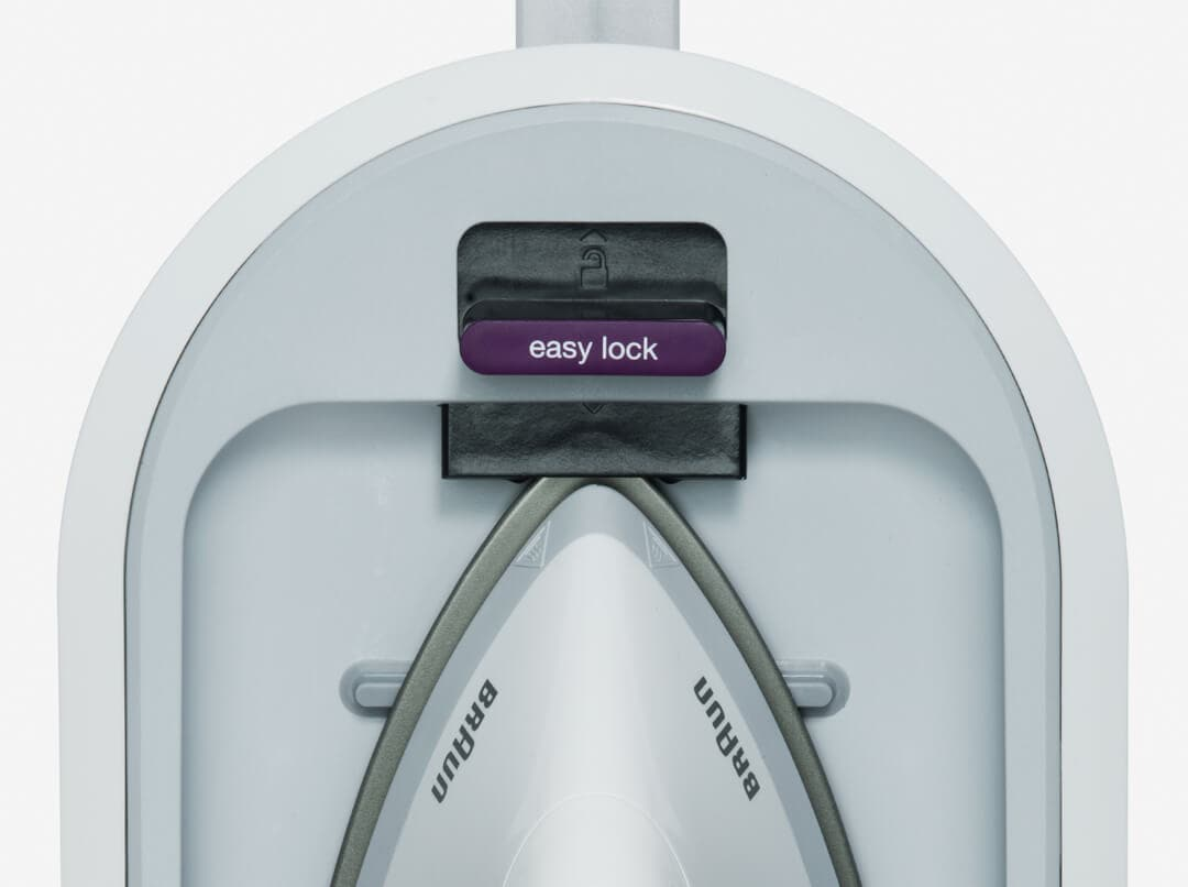 Braun Steam Generator Irons with easy lock system